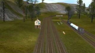 Trainz Donald on the Season 3 Countryside Route