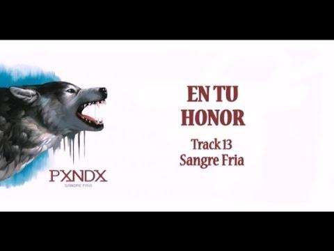 En tu Honor - Panda (Letra) HD