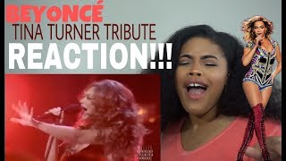 Beyoncé - Proud Mary (Tina Turner Tribute) l REACTION!!!!