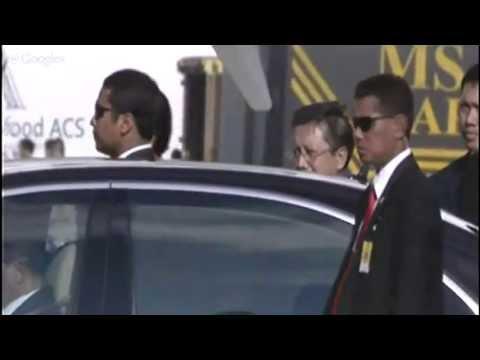 KTT APEC 2013 : Kedatangan Sultan Brunei Darussalam (6 Oktober 2013)