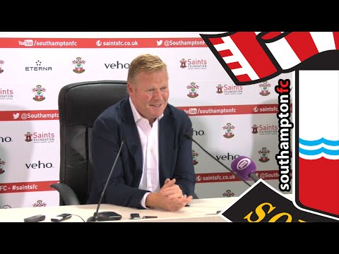 PRESS CONFERENCE: Ronald Koeman's first Saints media briefing