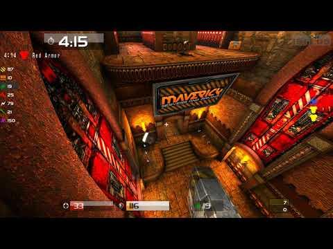 Quake Live: - SkiT(POV)-vs-OlegTar-bloodrun