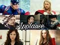 The Avengers // Applause