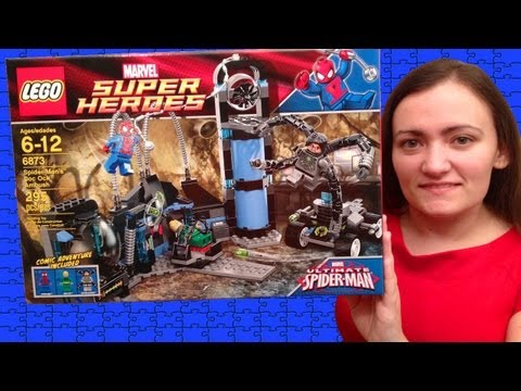 LEGO Marvel Super Heroes 6873 Spider Man's Doc Ock Ambush LEGO Review