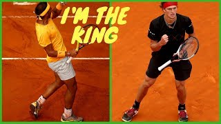 H2 - Nadal vs Sasha Zverev - Final Rome 2018 - Summary