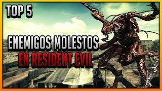 TOP 5: Enemigos molestos de Resident Evil