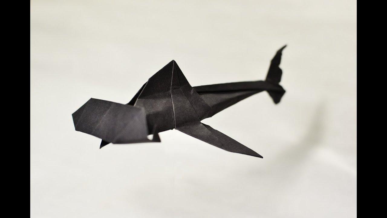 как сделать оригами из бумаги лису видео
