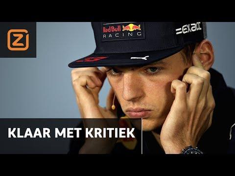 Max Verstappen: 'Nog zo'n vraag en ik deel een kopstoot uit' | Persconferentie GP Canada | 7/6/2018