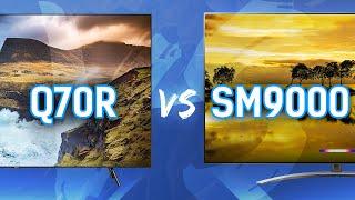QLED vs NanoCell: Samsung Q70R  vs LG SM9000