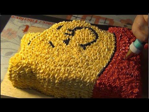 Украшение детских тортов дома