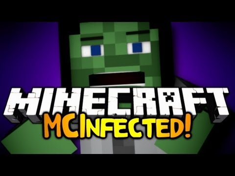 Minecraft: Mini Game: MCInfected! w/ ChimneySwift!