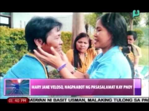 News@1: Mary Jane Veloso, nagpaabot ng pasasalamat kay Pangulong Aquino