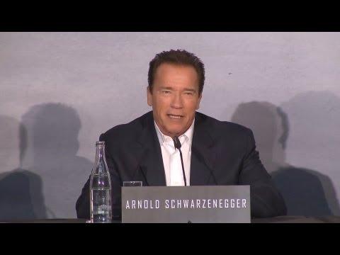 THE LAST STAND - Pressekonferenz Teil 1 mit Arnold Schwarzenegger - (Full-HD) - Deutsch / German