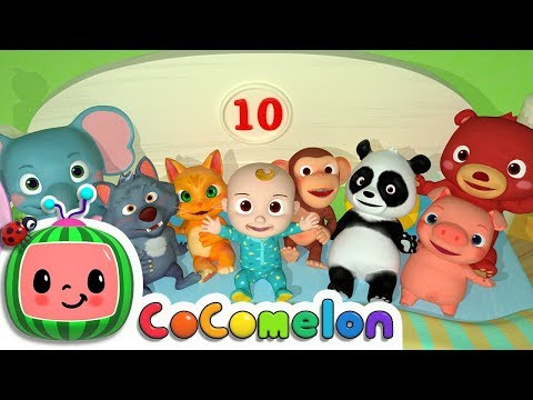 Ten in the Bed | Nursery Rhymes & Kids Songs - ABCkidTV