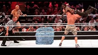 #New # WWE -  The Rock &  Jhon cena Vs The Miz & R Truth Crazy Match (you must Watch it) Original HD