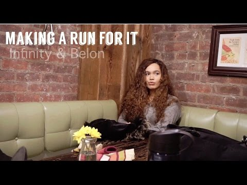 Making A Run For It Infinity and Belon 1:18