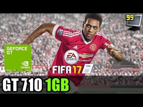 FIFA 17 on GeForce GT 710 - Can It Run?