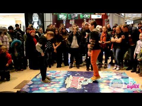 НОВОГОДНИЙ DANCE SESSION: 23.12.12 | Electro Dance | Danil vs. Ilya
