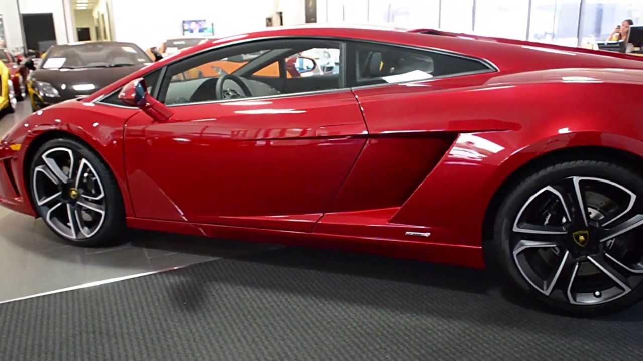 2014 Lamborghini Gallardo Lp560 4 Rosso Efesto Ela13745 Youtube