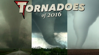 TORNADOES of 2016 - An Incredible Year in 4K!