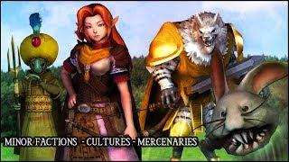 Hyrule Conquest - Minor Factions, Cultures, Mercenaries
