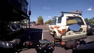 Motorbike ride Salisbury to Adelaide then Glenelg