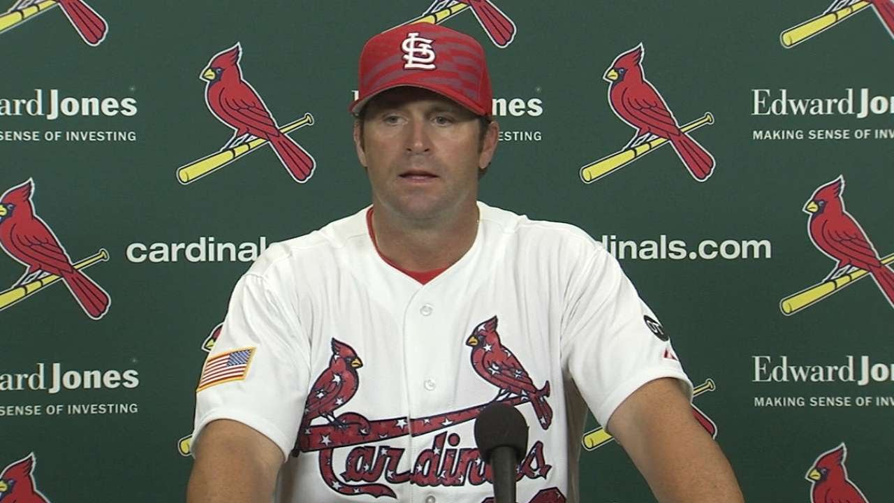SD@STL: Matheny on clutch hitting in Cards' win