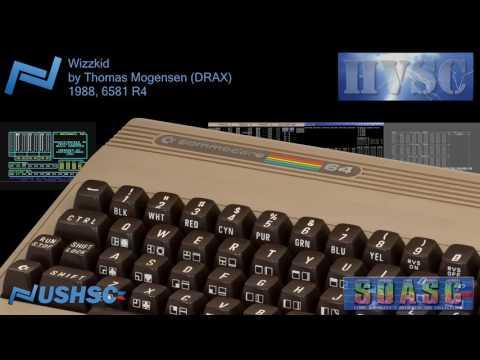 Wizzkid - Thomas Mogensen (DRAX) - (1988) - C64 chiptune