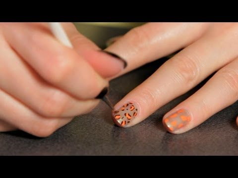 How to Do a Cheetah Design | Nail Art