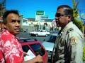 Policia de Pachuca reta a golpes