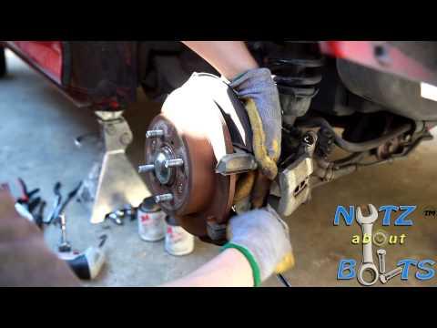 1994-2001 Acura Integra GSR Rear brakes replacement