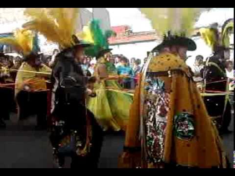 Cuadrilla experiencia y juventud carnaval xonaca 2011
