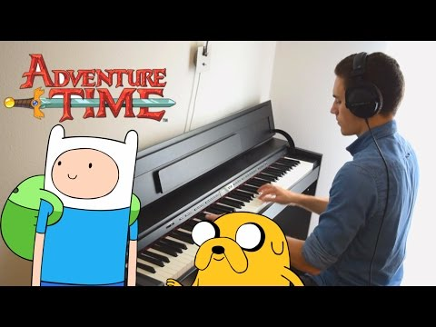 Adventure Time  The Island Song Credits Theme  Piano