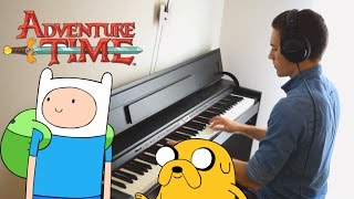 Adventure Time - The Island Song (Credits Theme) - Piano