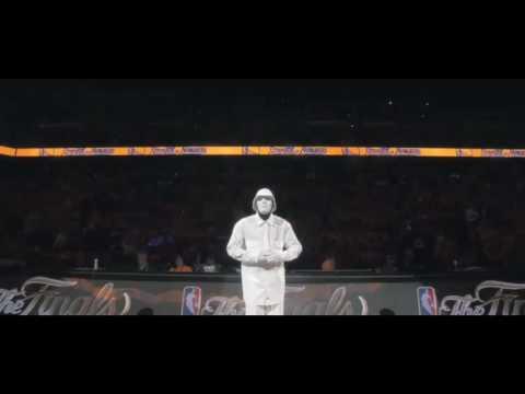 Jabbawockeez 2016 NBA finals
