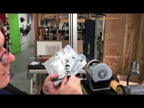 Tormek Drill bit sharpener unboxing and tryout.