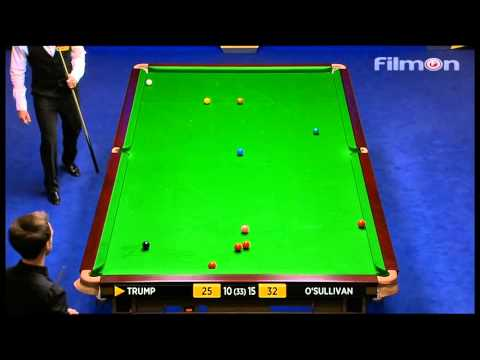 Ronnie O'Sullivan vs Judd Trump - WSC 2013 Semifinal - Final session