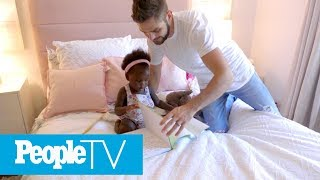 Download Thomas Rhett amp Lauren Akins Give A Tour Of Their Daughters39 Nurseries  Hollywood at Home  PeopleTV MP3
