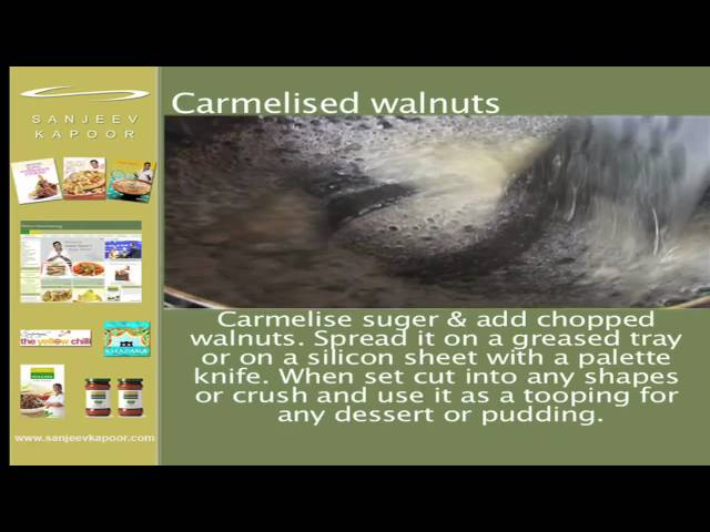 sddefault Instant Caramelised walnuts | Sanjeev Kapoor
