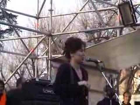 Sabina Guzzanti a Vicenza 17/02/2007