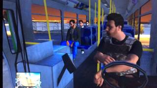 Gta 5 Funny Moments - Fails, Stunts, Deaths & More (Banana Bus) #Ep. 2