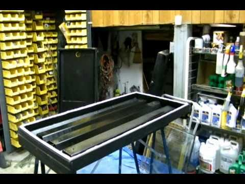 Eco Steve Homemade DIY Free Solar Hot Air Collector Heater Free Heat