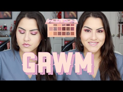 GRWM + Reviews Huda Beauty Products