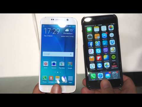 Samsung Galaxy S6 vs Apple iPhone 6 - fingerprint unlocking