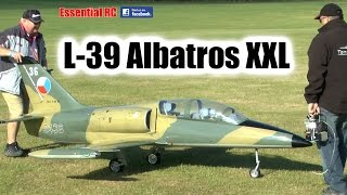 GIANT Scale RC L-39 Albatros Turbine Jet at Festival of Flight | Ragley Hall 2016