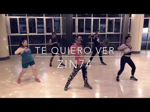 Zumba Fitness - Te Quiero Ver (Cumbia Calypso Techno) ZIN74 | Choreography by Zumba Fitness