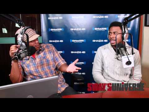 Sage The Gemini On Creating gas Pedal From Clyde Carson's slow Down On Sway In The Morning video