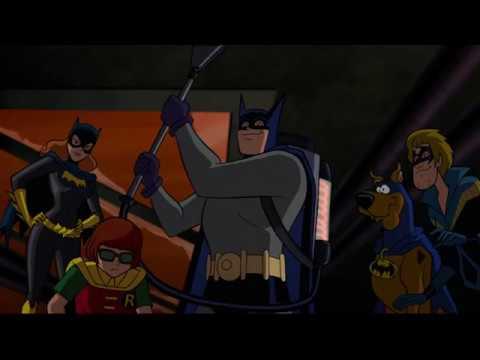 Красный Плащ против Бэтмена,Аквамена,Вопроса и Команды Скуби Ду ч3