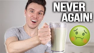 Why I started drinking protein shakes (again) after 5 years...
