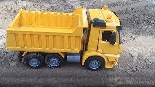 Máy Xúc, Ô Tô Tải, Xe Bồn Trộn Bê Tông, Đồ Chơi Trẻ Em   Dump Truck Toy Video for Children